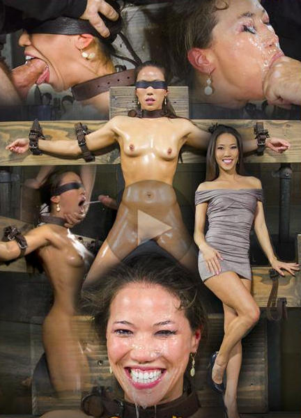 Submissive Asian whore Kalina Ryu in extreme bondage games