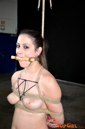 Uncomfortable gag restraint mouth. 25/10/11. click on picture to see gallery ...