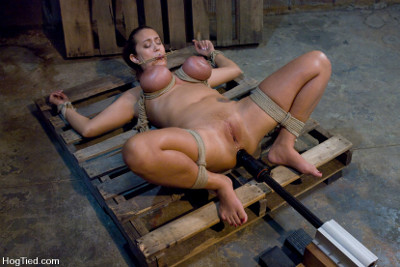 tonque tied girl